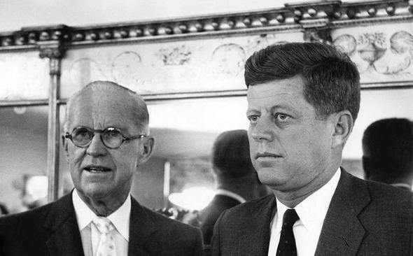 Joe Kennedy and John Kennedy